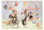 Ohne Titel Mark Rothko Doppelkarte 1962